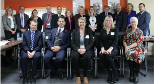 Picture showing The Alliance of Leading Learning Board Members
